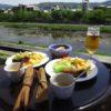 京都鴨川「かわカフェ Kawa Café 」の川床でランチをしてきました | 開放感、景色、雰囲気最高!